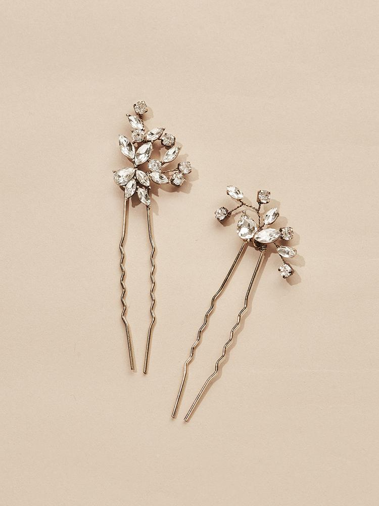 Ameniaarts Hudson Bridal Hair Pins (Set of 2)