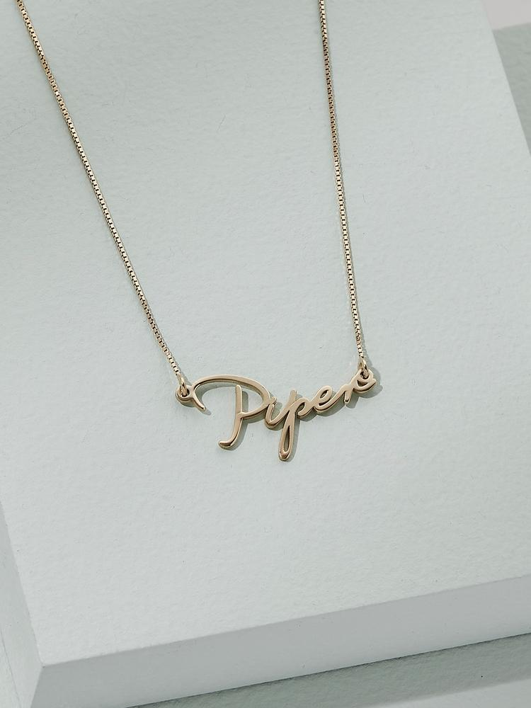 Mini Name Necklace