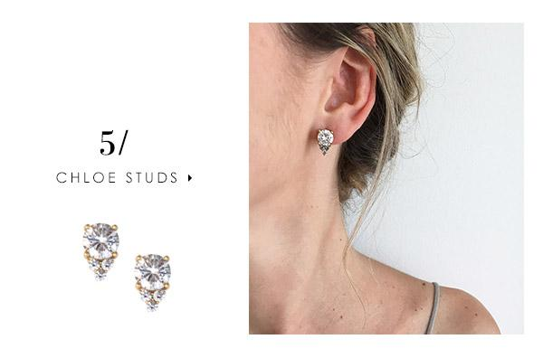 5 stud earrings you can wear every day: Chloe Studs