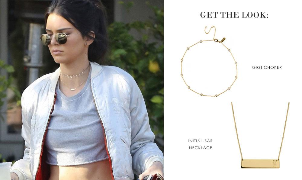 Get the Look: Kendall Jenner | Ameniaarts Chokers
