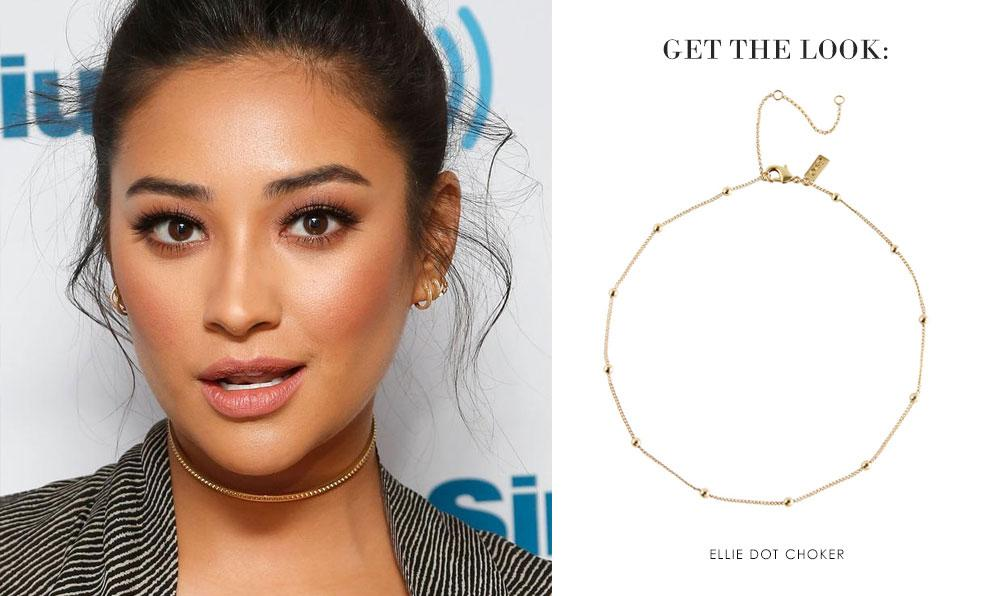 Get the Look: Shay Mitchell | Ameniaarts Chokers