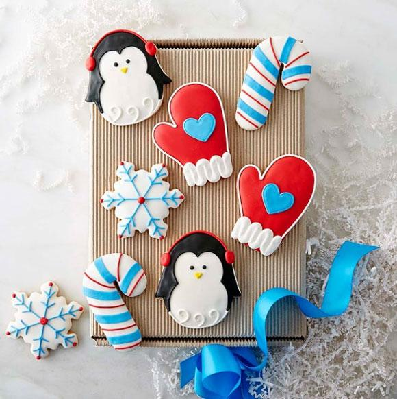 William Sonoma Winter Cookie Box