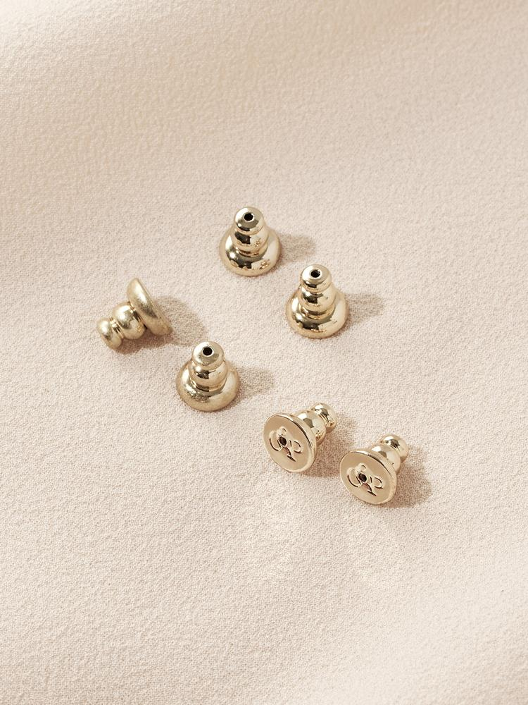 Earring Backings (3 Pairs)