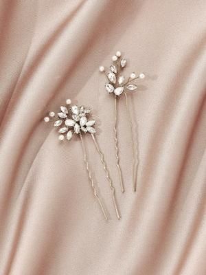 Ameniaarts Padma Hair Pins (Set of 2)