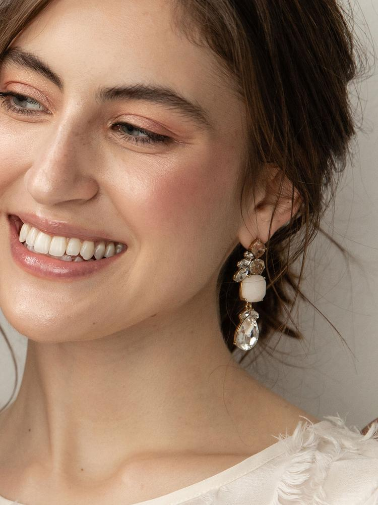 Load image into Gallery viewer, Ameniaarts Windsor Statement Earrings