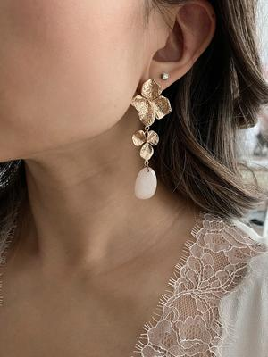 Ameniaarts Magnolia Drop Earrings