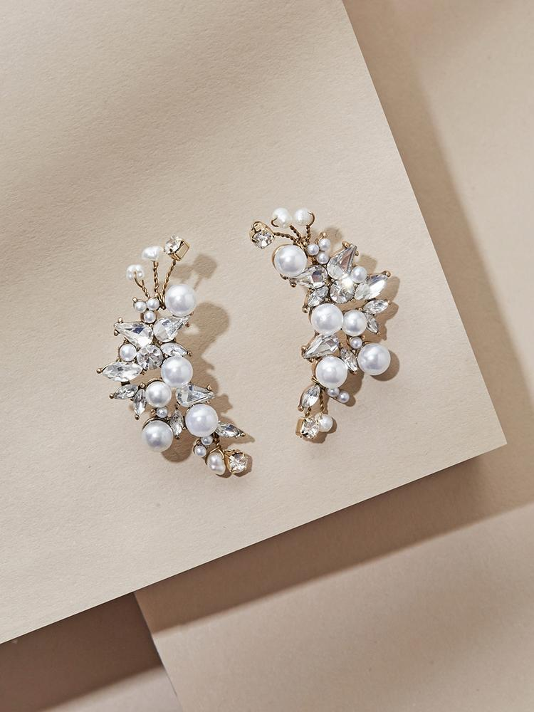 Ameniaarts Monaco Pearl Statement Earrings